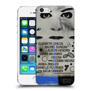 Official Orphan Black Posters Clone Club Hard Back Case For Apple Iphone 5 / 5S / Se
