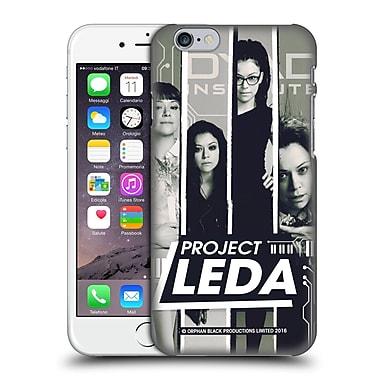 Official Orphan Black Project Leda Four Stripes Hard Back Case For Apple Iphone 6 / 6S