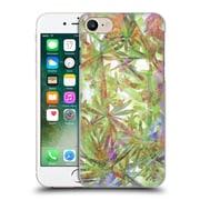 Official Magdalena Hristova Secret Garden Light Green Hard Back Case For Apple Iphone 7
