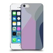 Official Magdalena Hristova Clean Lines 2 Lilac 2 Hard Back Case For Apple Iphone 5 / 5S / Se