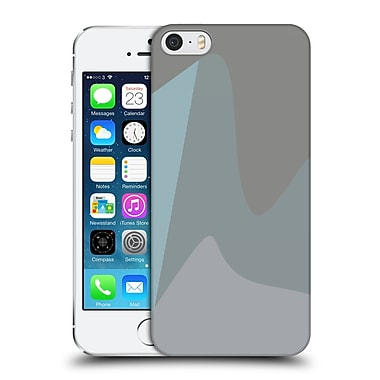 Official Magdalena Hristova Clean Lines 2 Lilac Hard Back Case For Apple Iphone 5 / 5S / Se