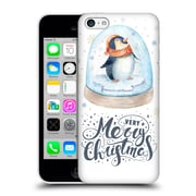 Official Kristina Kvilis Christmas Penguin 2 Hard Back Case For Apple Iphone 5C