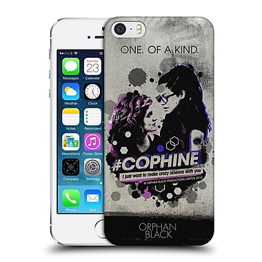 Official Orphan Black Posters Cophine Hard Back Case For Apple Iphone 5 / 5S / Se