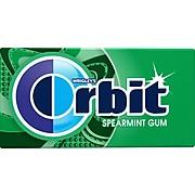 Orbit Sugar Free Spearmint Gum, 14 Peaces/Pack (374983)