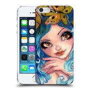 Official Natasha Wescoat Fantasy Crown Of Butterflies Hard Back Case For Apple Iphone 5 / 5S / Se
