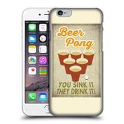 Official Lantern Press Man Cave Beer Pong Hard Back Case For Apple Iphone 6 / 6S