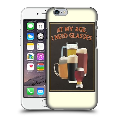 Official Lantern Press Man Cave At My Age I Need Glasses Hard Back Case For Apple Iphone 6 / 6S