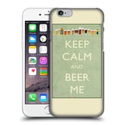 Official Lantern Press Man Cave Keep Calm Hard Back Case For Apple Iphone 6 / 6S