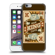 Official Lantern Press Man Cave King Card Hard Back Case For Apple Iphone 6 / 6S