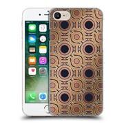 Official Magdalena Hristova Ornaments Gold & Dark Rose Hard Back Case For Apple Iphone 7