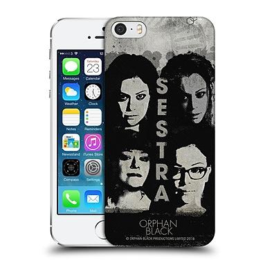Official Orphan Black Posters Sestra Hard Back Case For Apple Iphone 5 / 5S / Se