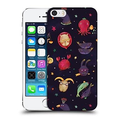 Official Oilikki Animal Patterns Zodiac Hard Back Case For Apple Iphone 5 / 5S / Se