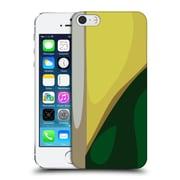 Official Magdalena Hristova Clean Lines 3 Dark Green 2 Hard Back Case For Apple Iphone 5 / 5S / Se