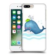 Official Oilikki Animals Whale Hard Back Case For Apple Iphone 7 Plus
