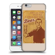 Official Lantern Press Man Cave Don'T Cry Over Spilled Milk Hard Back Case For Apple Iphone 6 Plus / 6S Plus