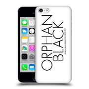 Official Orphan Black Logo & Helix Black Logo Hard Back Case For Apple Iphone 5C