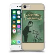 Official Lantern Press Man Cave In Dog Beers Hard Back Case For Apple Iphone 7