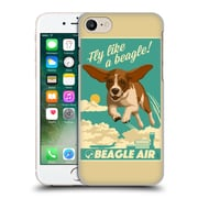 Official Lantern Press Dog Collection Fly Like A Beagle Hard Back Case For Apple Iphone 7