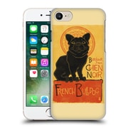 Official Lantern Press Dog Collection French Bulldog Hard Back Case For Apple Iphone 7