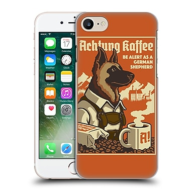 Official Lantern Press Dog Collection German Sheperd Hard Back Case For Apple Iphone 7