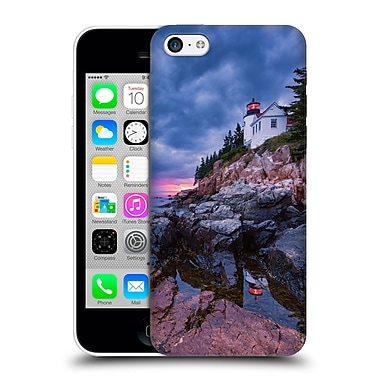 Official Michael Blanchette Lighthouses Beacon Reflection Hard Back Case For Apple Iphone 5C