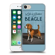 Official Lantern Press Dog Collection Beagle Hard Back Case For Apple Iphone 7