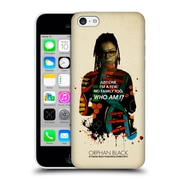 Official Orphan Black Who Am I Cosima Helix Hard Back Case For Apple Iphone 5C