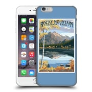 Official Lantern Press National Park Rocky Mountain Hard Back Case For Apple Iphone 6 Plus / 6S Plus