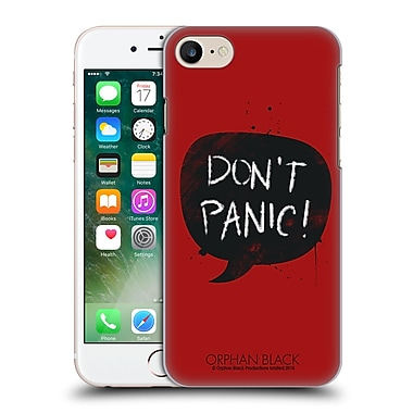 Official Orphan Black Crazy Science Do Not Panic Hard Back Case For Apple Iphone 7