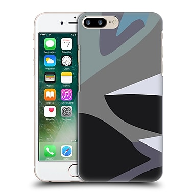 Official Magdalena Hristova Clean Lines Grey 3 Hard Back Case For Apple Iphone 7 Plus