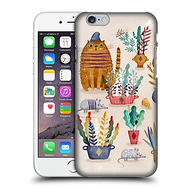 Official Oilikki Animals Mouse And Cat Hard Back Case For Apple Iphone 6 / 6S