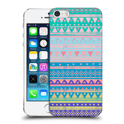 Official Nika Martinez Tribal Prints Boho Chic Native Bandana Hard Back Case For Apple Iphone 5 / 5S / Se