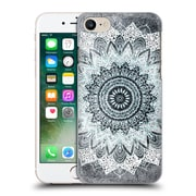 Official Nika Martinez Mandala Boho Chic Bw Hard Back Case For Apple Iphone 7
