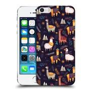 Official Oilikki Animal Patterns Llamas Hard Back Case For Apple Iphone 5 / 5S / Se