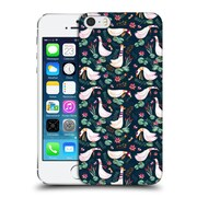 Official Oilikki Animal Patterns Geese Hard Back Case For Apple Iphone 5 / 5S / Se