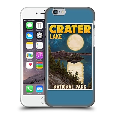 Official Lantern Press National Park Crater Lake Hard Back Case For Apple Iphone 6 / 6S