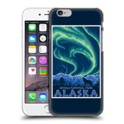 Official Lantern Press National Park Denali Alaska Hard Back Case For Apple Iphone 6 / 6S