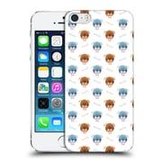 Official Oilikki Animal Patterns Boston Terrier Hard Back Case For Apple Iphone 5 / 5S / Se
