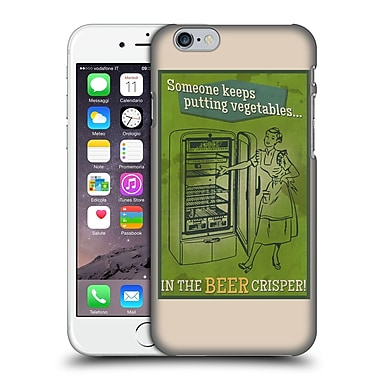 Official Lantern Press Man Cave Someone Keeps Putting Vegetables Hard Back Case For Apple Iphone 6 / 6S
