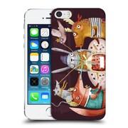 Official Oilikki Animals Fruit Drink Hard Back Case For Apple Iphone 5 / 5S / Se