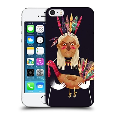 Official Oilikki Animals Native American Hard Back Case For Apple Iphone 5 / 5S / Se
