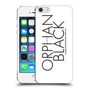 Official Orphan Black Logo & Helix Black Logo Hard Back Case For Apple Iphone 5 / 5S / Se