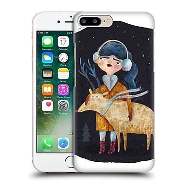 Official Oilikki Animals Deer Hard Back Case For Apple Iphone 7 Plus