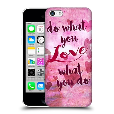 Official Natasha Wescoat Watercolour Wonders Love Hard Back Case For Apple Iphone 5C