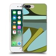 Official Magdalena Hristova Clean Lines 3 Green 4 Hard Back Case For Apple Iphone 7 Plus