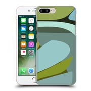 Official Magdalena Hristova Clean Lines 3 Green 5 Hard Back Case For Apple Iphone 7 Plus