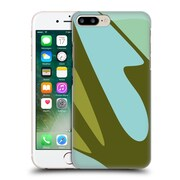 Official Magdalena Hristova Clean Lines 3 Green 3 Hard Back Case For Apple Iphone 7 Plus