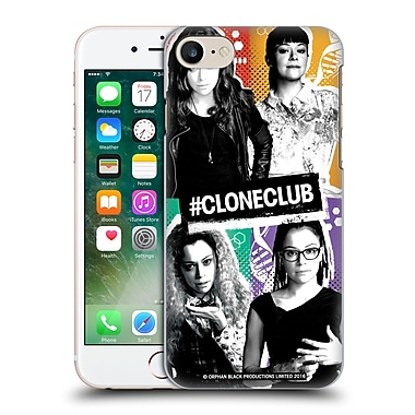 Official Orphan Black #Cloneclub Boxes Hard Back Case For Apple Iphone 7