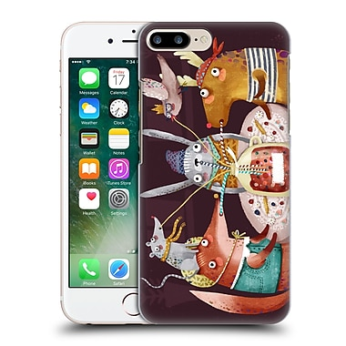 Official Oilikki Animals Fruit Drink Hard Back Case For Apple Iphone 7 Plus