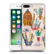 Official Oilikki Animals Mouse And Cat Hard Back Case For Apple Iphone 7 Plus